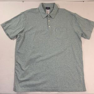 Men's Patagonia Organic Logo Polo Tee Shirt XL